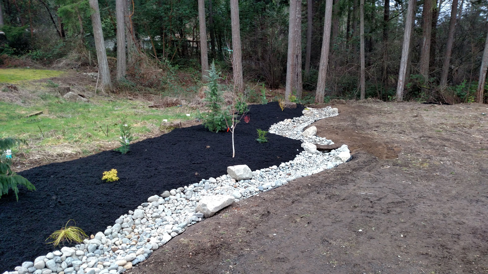 Commercial landscaping bremerton brookside landscape for Commercial landscape design