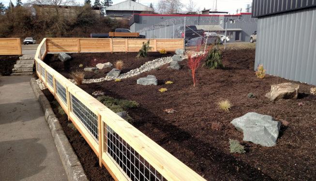 Silverdale Landscape Installation