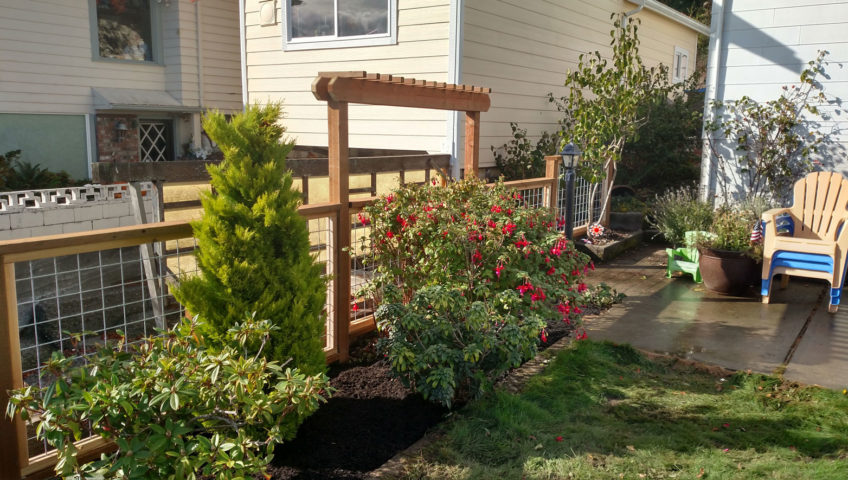 arbor and trellis design