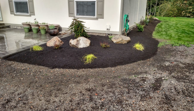 Port Orchard landscaping project