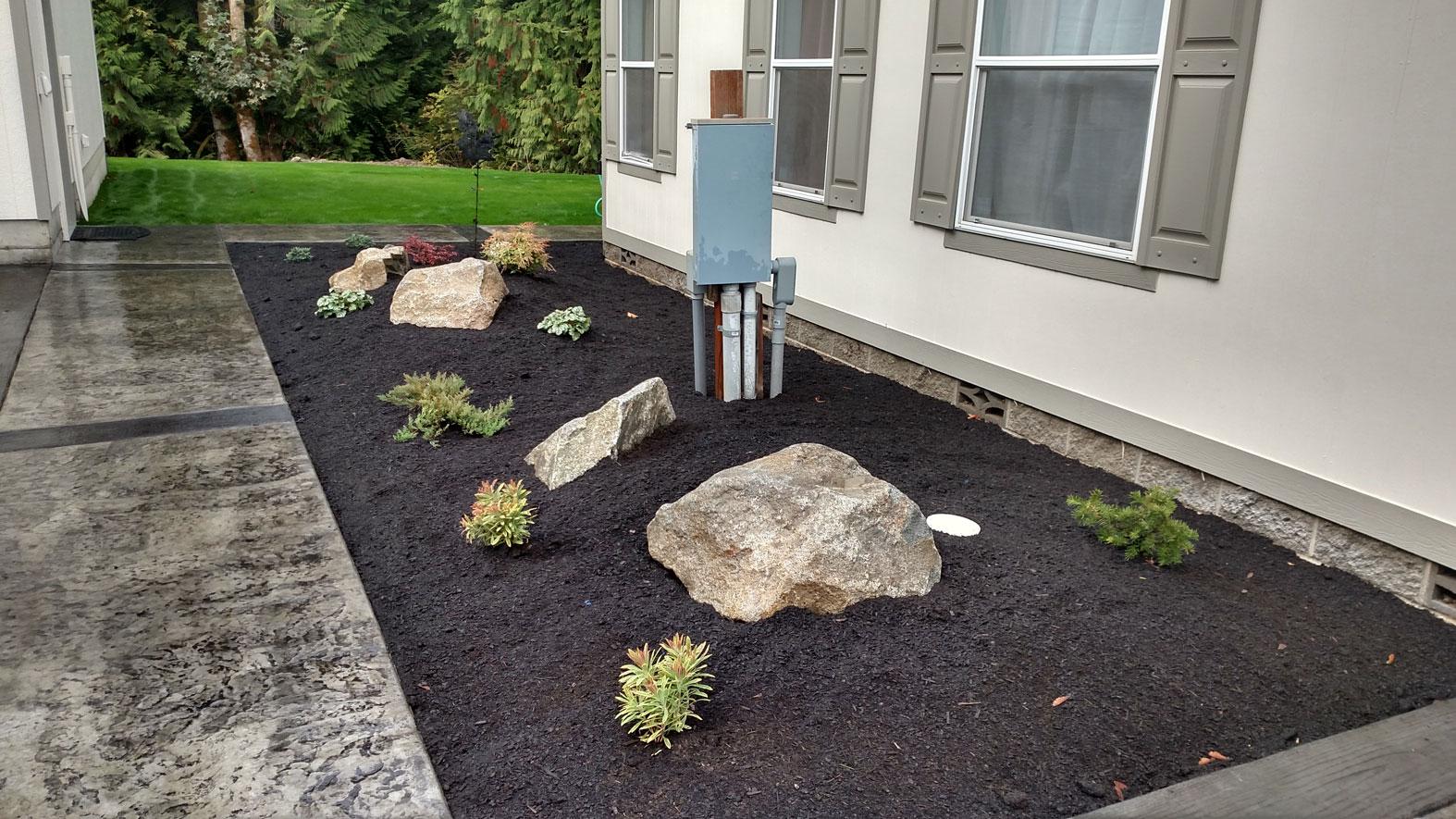 Landscaping port orchard brookside landscape design for Landscaping rocks kitsap county