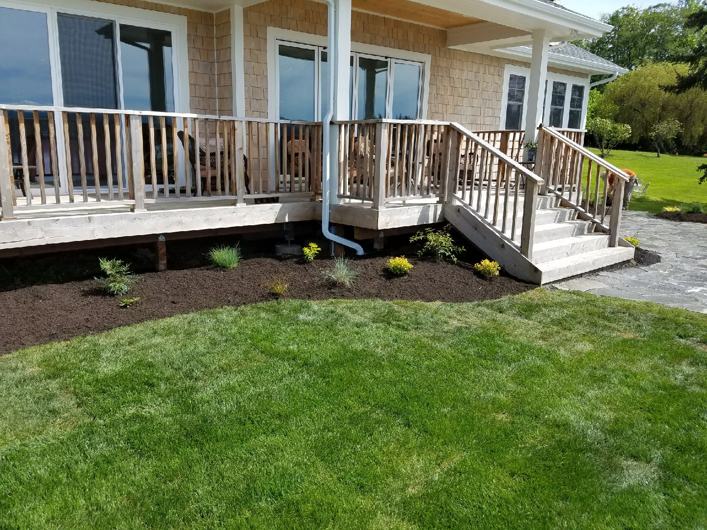 Landscape installation tracyton brookside landscape design for Landscape installation