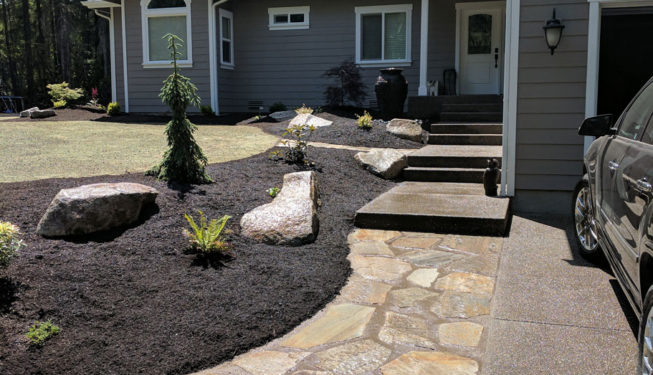 Chico Lawn and Garden Bed Installation
