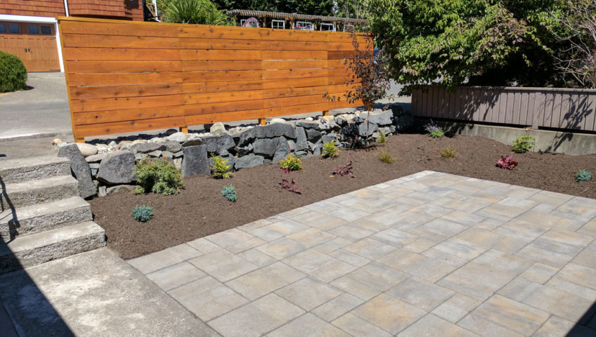 Manette Courtyard and Patio Installation